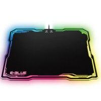 Oyun Arkadan Aydınlatmalı Mouse Pad Düz Ve Pürüzsüz RGB Için Kenar Fareler Mat Görüntüleme Modları 10 çeşit Dota WOW LOL