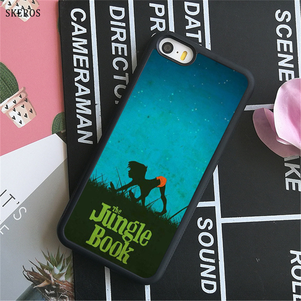 SKEROS The Jungle Book 7 (2) phone case for iphone X 4 4s 5 5s 6 6s 7 8 6 plus 6s plus 7 & 8 plus #B753