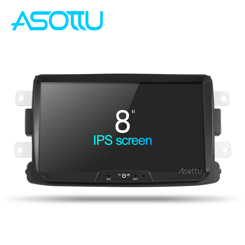 Asottu CDXY8071  2G+32G android car dvd for Rernult Duster Dacia car radio video audio player gps navigation car stereo player