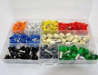 9 wert Kabel Ende Terminals  Eintrag Schnürsenkel Aderendhülsen 0.5mm2 16mm2 AWG 22 zu 5 Sortiment Kit-in Terminals aus Heimwerkerbedarf bei