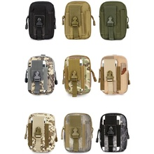 CQC 1000D Tactical Military Outdoor Tactical Utility Utility Gadget Belt Bag Pinggang Pack Kes Telefon Mudah Alih Pouch Universal EDC Tool Bag