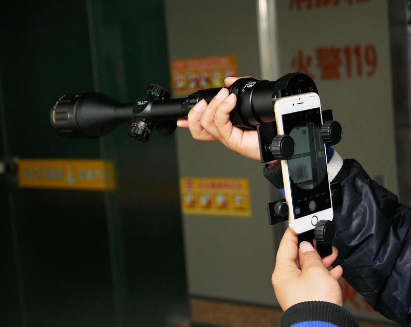 Universal aluminium legierung umfang telefon mount adapter für