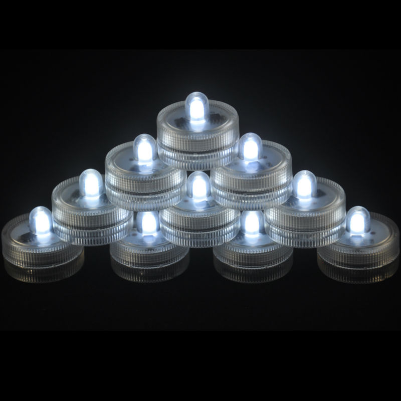 Provided Free Shipping Factory Vendor 100pcs/pack Led Submersible Floralyte For Centerpieces And Flower Vases Lights & Lighting