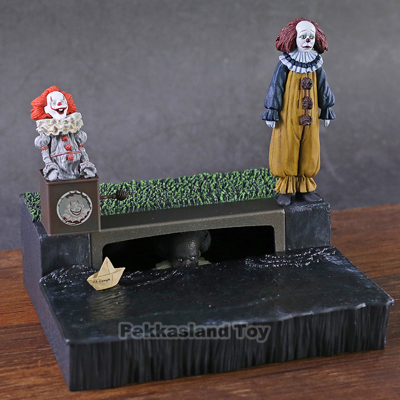 NECA IT Pennywise Accessory Set Reel Toys Stephen King