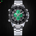 Relogio Masculino Luxury Men Watches Waterproof Stainless Steel Hour Men Army Military Wristwatch Analog Digital LED Sport Watch