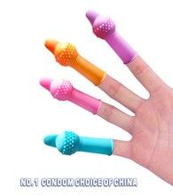 Finger Female Waterproof Massage Vibrator Clitoral G-Spot Vibrator Stimulator