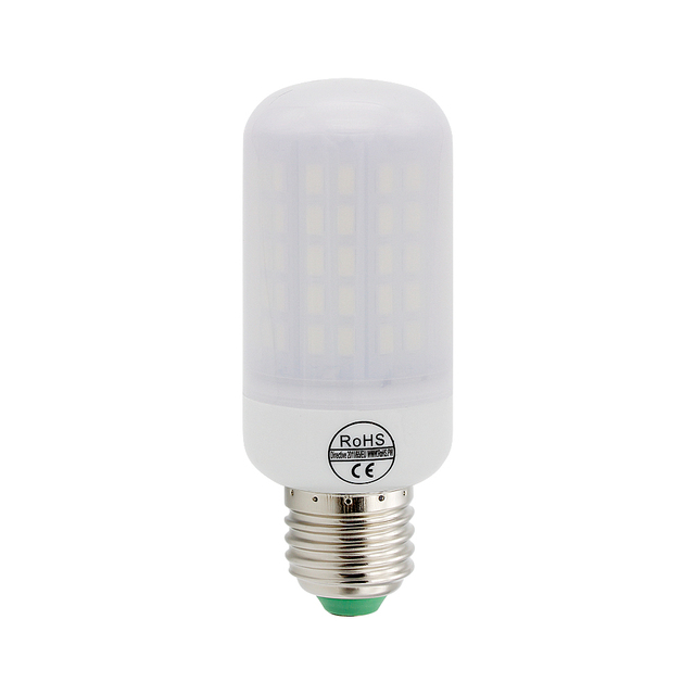 New Style Long Lifespan No Flicker LED Corn Bulb E27 Light 220V SMD ...