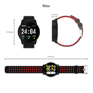 Image 5 - 2019 ספורט Mens שעון דיגיטלי אופנה חכם שעון גברים נשים רשומת פדומטר קצב לב צג שעון חכם עבור אנדרואיד ו ios