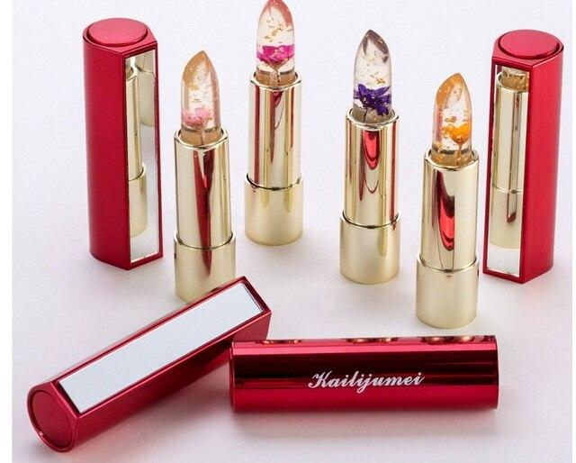 100% Real Original impermeable lápiz labial hidratante suave lápiz labial Color Sexy de larga duración brillo de labios cosméticos maquillaje de belleza