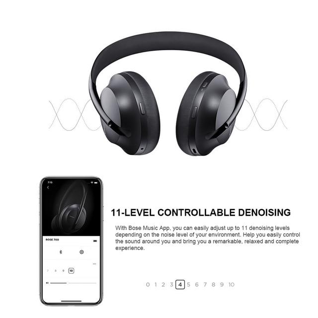Bose 700 Noise Cancelling  Wireless Headset  Adaptive Mic System BOSE AR 5