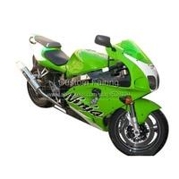 ABS plastic fairings for Kawasaki ZX7R ZX 7R Ninja 1996 2003 1997 1998 2000 sticker green fairing kit 7 gifts xl12