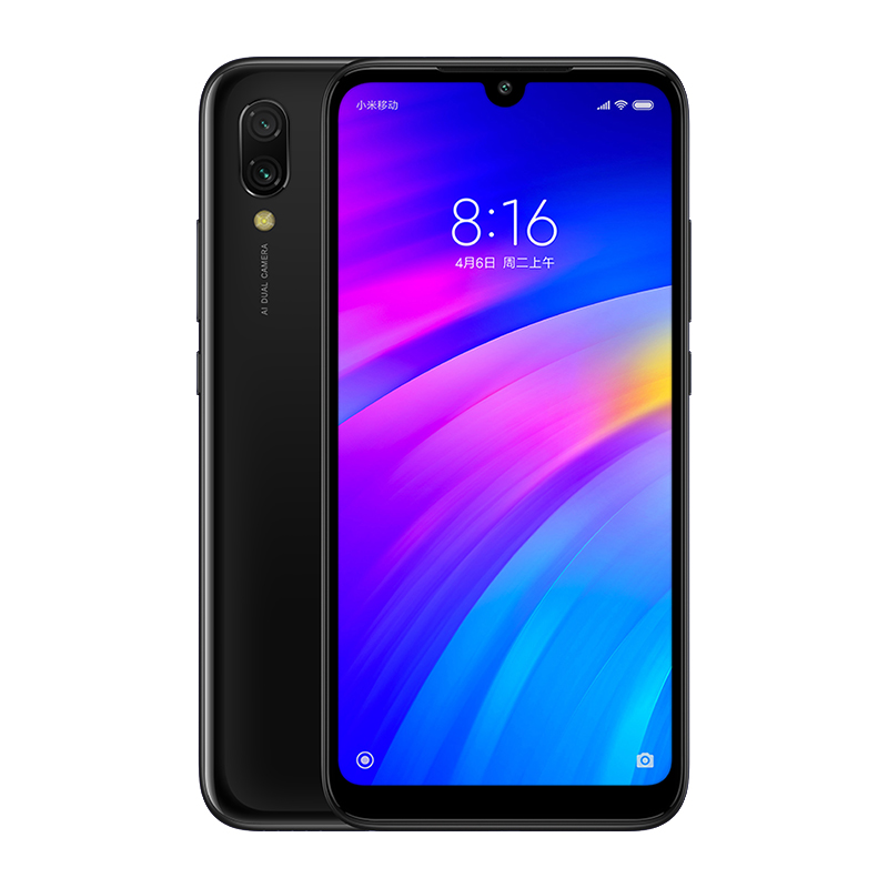"Image 5 - In Stock Global Version Xiaomi Redmi 7 Mobile Phone 3GB+64GB Snapdragon 632 Octa Core 4000mAh 6.26"" 19:9 Full Screen Smartphone-in Cellphones from Cellphones & Telecommunications"
