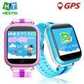 Niños Reloj GPS Q750 WIFI 1.54 de la pantalla táctil para niños aprendizaje temprano podómetro inteligente reloj bebé Anti-caído de alarma SOS Llamada pk q90 q50