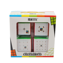 Moyu Cubing Classroom MoFangJiaoShi 2x2x2 3x3x3 4x4x4 5x5x5 Magic Cube Set Gift Stickerless Toys For Children MF2S MF3S MF4S MF5