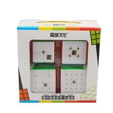 Moyu Cubing Classroom MoFangJiaoShi 2x2x2 3x3x3 4x4x4 5x5x5 Magic Cube Set Gift Stickerless Toys For Children MF2S MF3S MF4S MF5