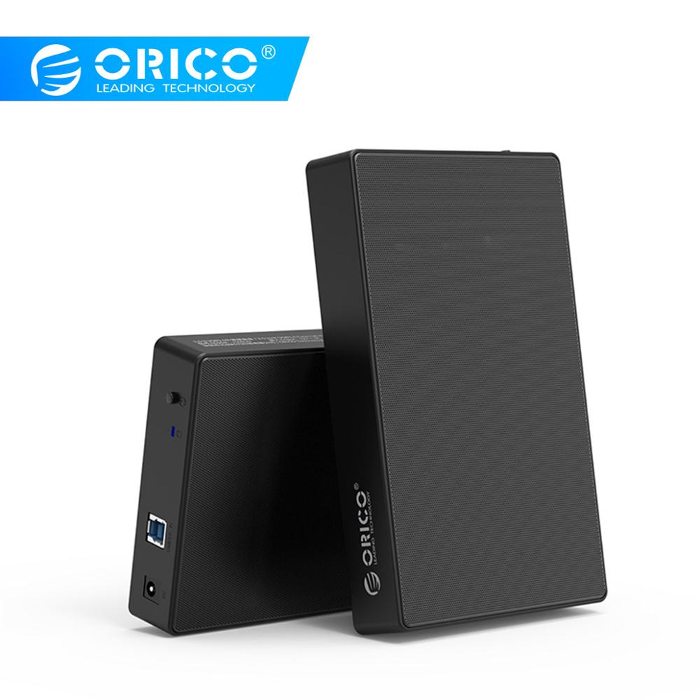 ORICO HDD Case 3.5 Inch Hard Drive Disk Case SSD Adapter USB3.1 To SATA HDD Box For Samsung SSD/HDD External Hard Drive Box Case