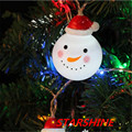 snowman string lights fairy led Christmas light home garden white lights santa battery powered party 3V AA indoor lights