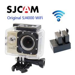 Free shipping!!Original SJCAM SJ4000 WiFi 1080P Full HD Action Camera Sport DVR+Extra 1pcs  Batteries+Dual Battery Charger