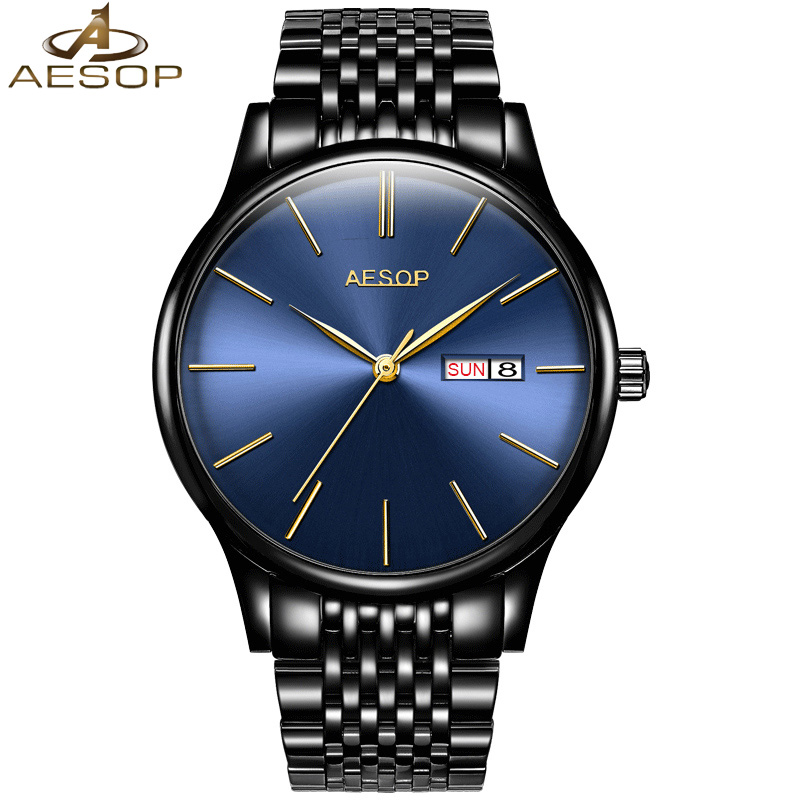 2018 Automatic Self-Wind Men sports Watch Business Men steel band waterproof Mechanical Clock Auto Date Waterproof Watches forsining date display automatic mechanical watch men business leather band watches modern gift dress classic analog clock box