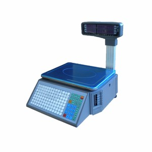 Image 5 - Stampa di codici a barre Elettronico di pesatura Bilance con 10000 Più di capacità di archiviazione dati per il supermercato negozio di carne o negozio di frutta
