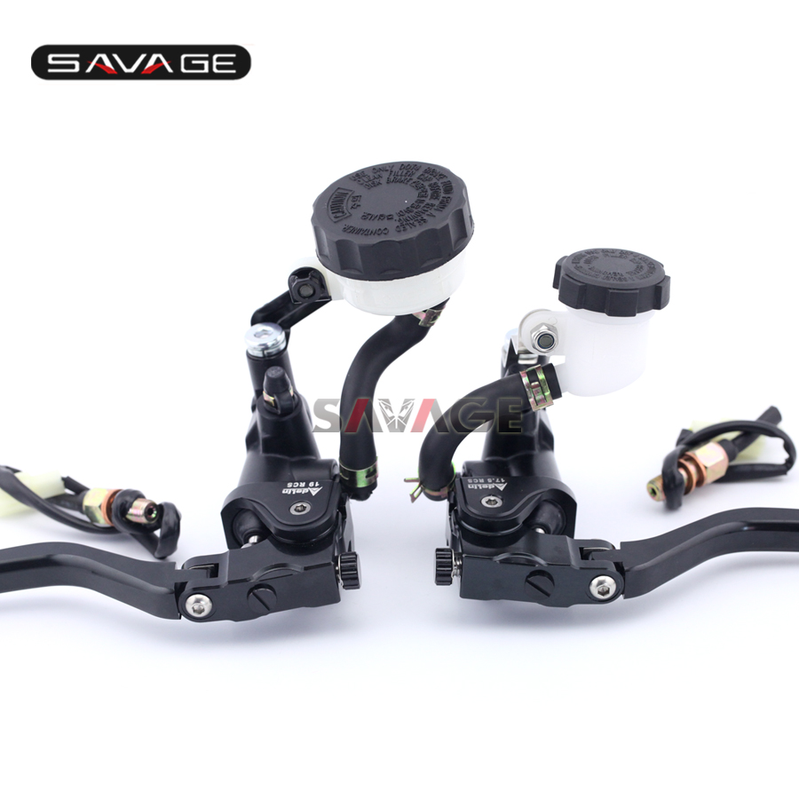 For DUCATI Monster 659/696/796/1100/1200/S Motorcycle Radial Clutch & Brake Master Cylinder Levers f 16 dc 80 motorcycle brake clutch levers for moto guzzi breva 1100 norge 1200 gt8v 1200 sport caponord etv1000