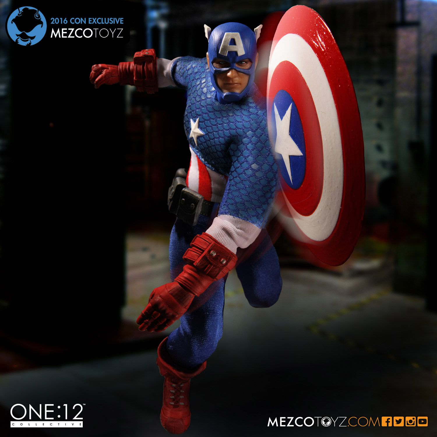Captain America: Deluxe Classic Version One:12 Collective High Quality BJD Action Figure Toys hardin collective action