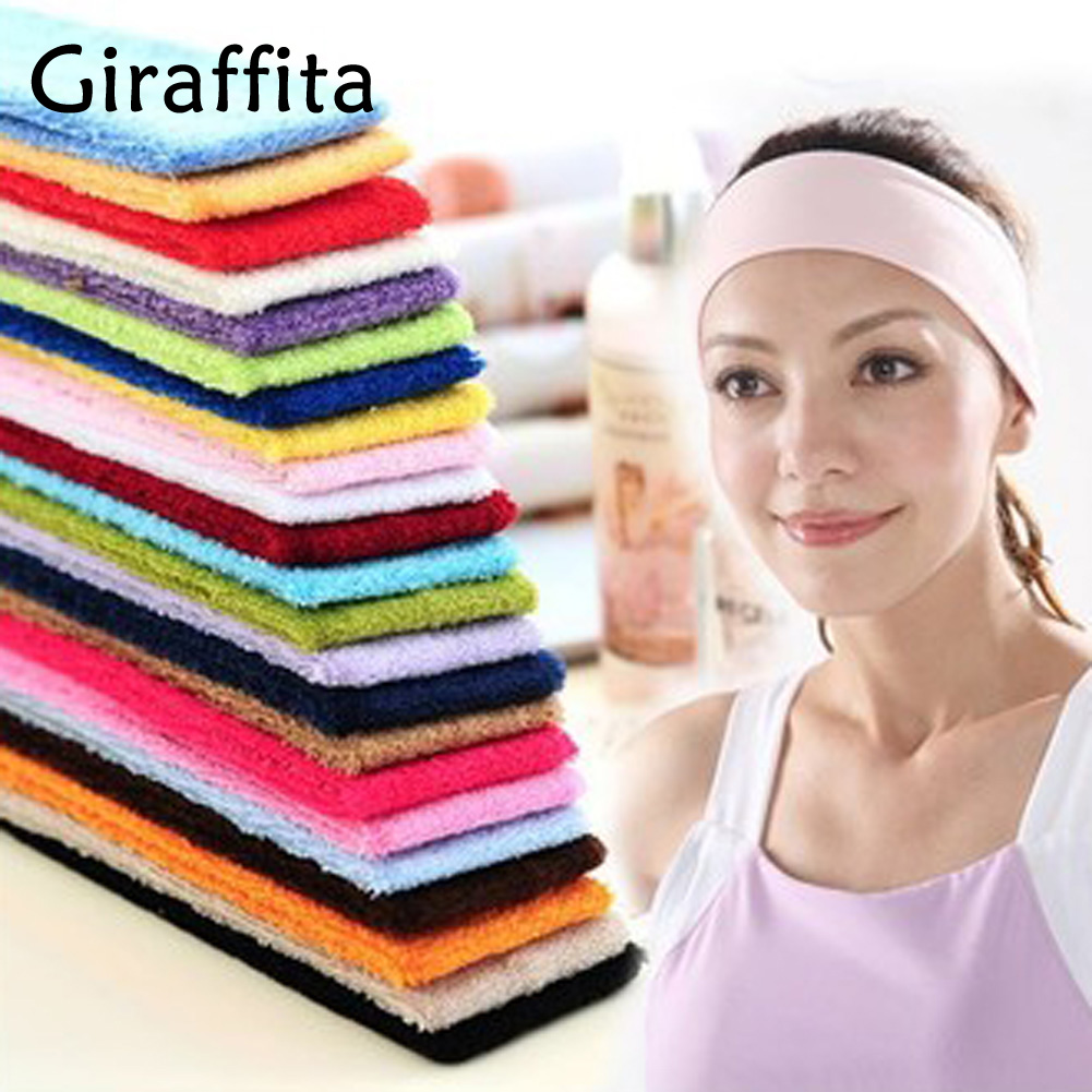 Giraffita Hot Sale Sports Gym Stretch Headband Yoga Head Band Sweat Sweatband Women Headband yoga gym sport stretch headband womens anti sweat hairband cotton men women sweatband running outdoor fitness