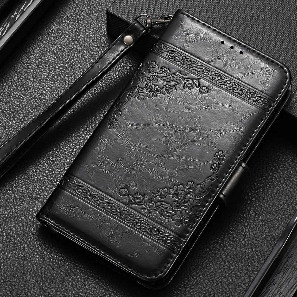 На Galaxy A50 чехол бумажник чехол для samsung Galaxy A10 A20 A30 A40 A50 A70 A20e A2 Core A6 A7 A8 A9 крышка однотонный облегающий чехол
