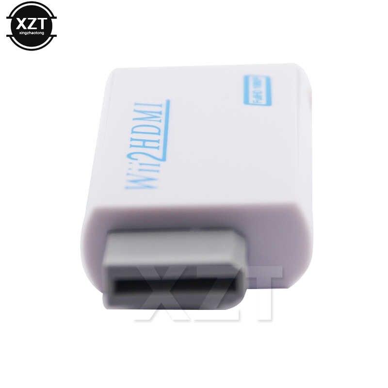 Для wii в HDMI конвертер адаптер Full HD 1080P wii 2HDMI конвертер 3,5 мм аудио для ПК HDTV монитор дисплей высокое качество