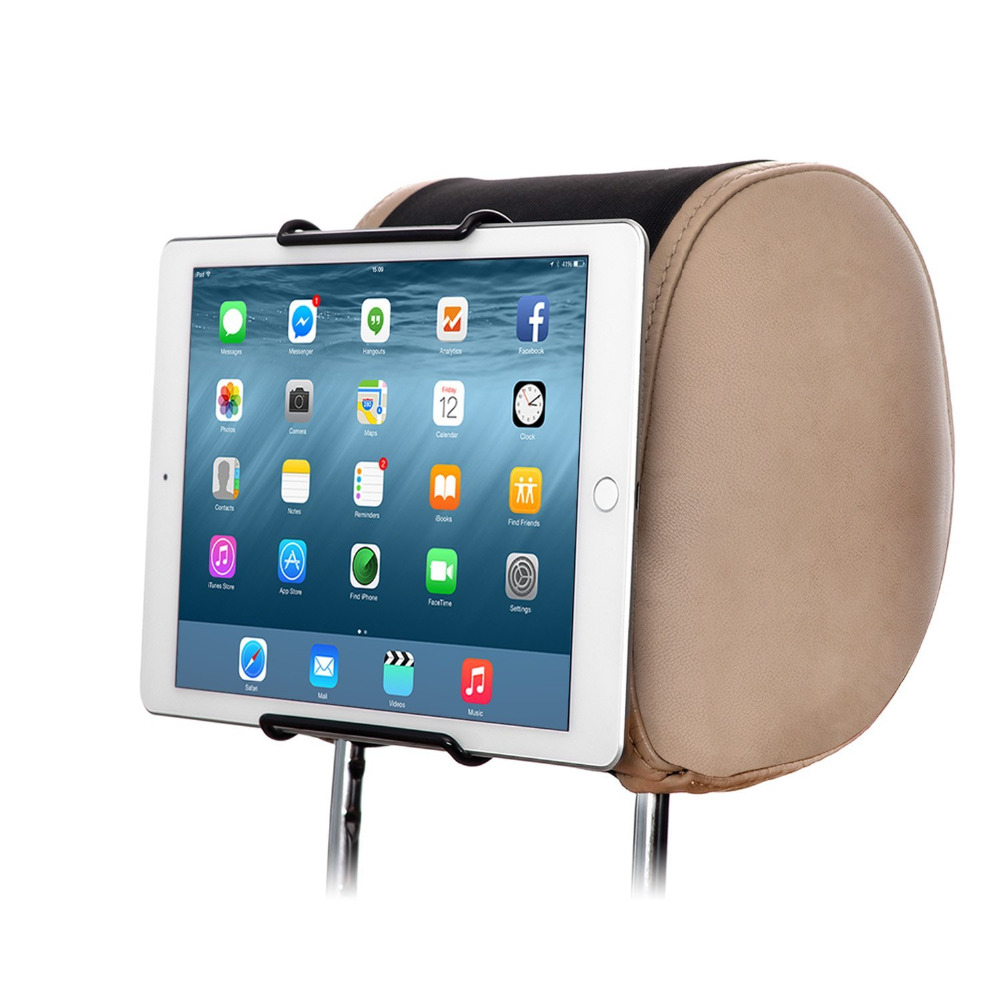 Reyann Universal Car Headrest Mount Holder for All 7 Inch to 10 Inch Tablets iPad, iPad mini, iPad Air, iPad Pro & other Tablets