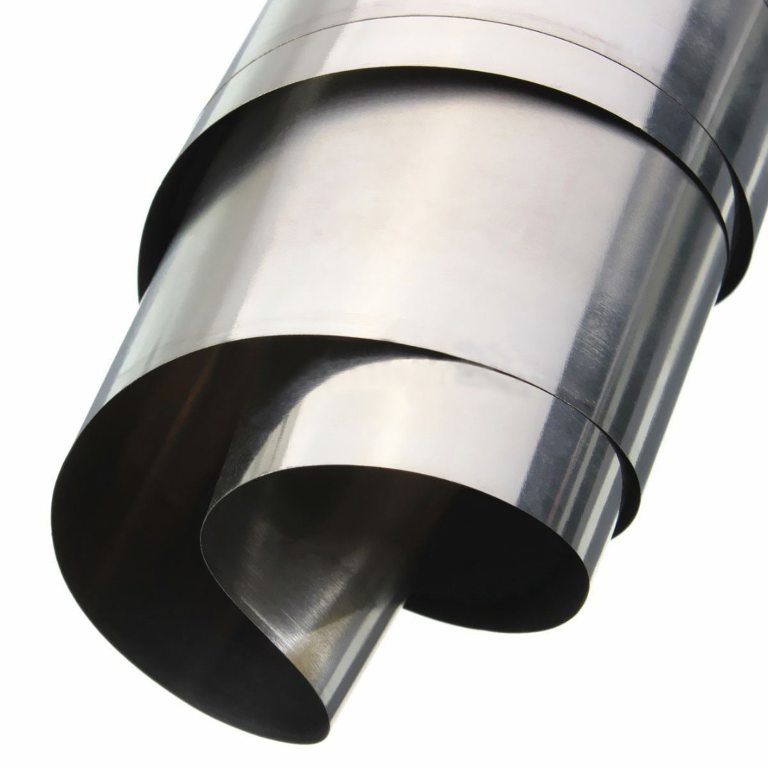 1Pc Stainless Steel Sheet Silver 304 Stainless Steel Fine Plate Sheet Foil 0.1mm*100mm*1000mm For Precision Machinery Mayitr