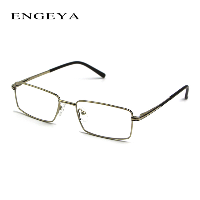 ENGEYA Metal Reading Glasses Frame Men Optical Brand Designer Clear Eyeglasses Frame Eyewear High Quality 3 Colors #IP160#