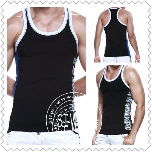 Venda direta tanque de Fitness Top camisola magro costela tricô 100% algodão tendência do colete