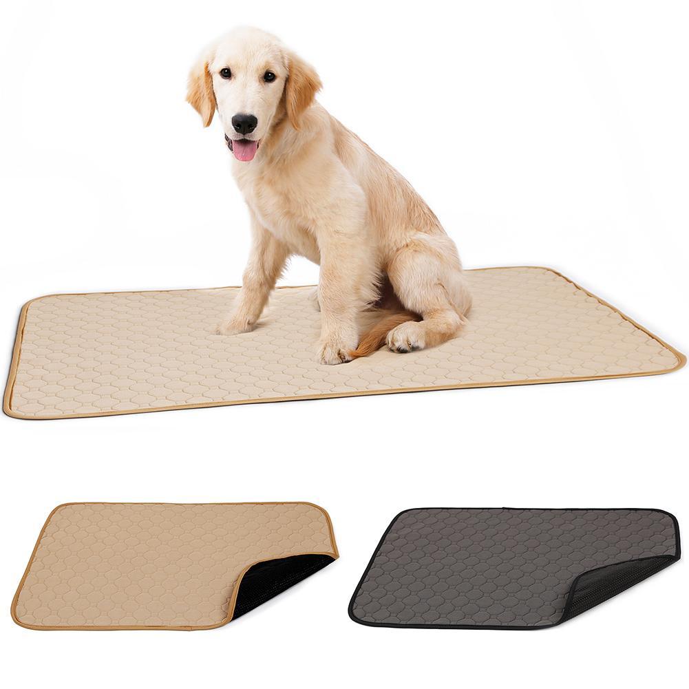Reusable Waterproof Pet Pad Diaper Super Absorbent Potty Training Dog Mats Nappy