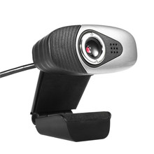 New 80*30*110mm USB 2.0 PC Camera Video Record HD Webcam Web Camera with MIC for Computer PC Laptop for Skype for MSN