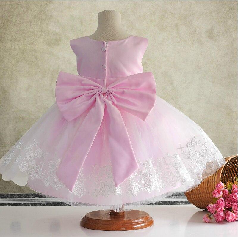 Summer girls bebé vestido de Tul blanco niño vestidos de flores niña ...