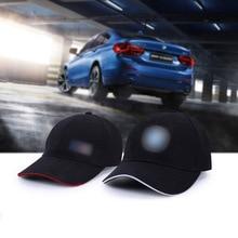 brand New black Fashion Cotton Car logo for bmw performance Baseball Cap hat wholesale for Men and woman black& white цены