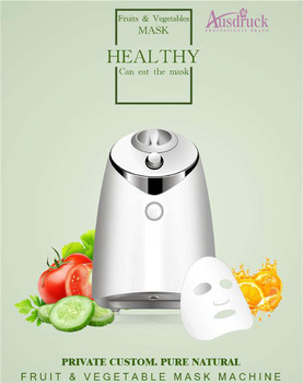 Top quality  DIY Facial Care Tools Fruit and vegetable Facial Mask Maker face care Portable Nutrition Nature mini machine