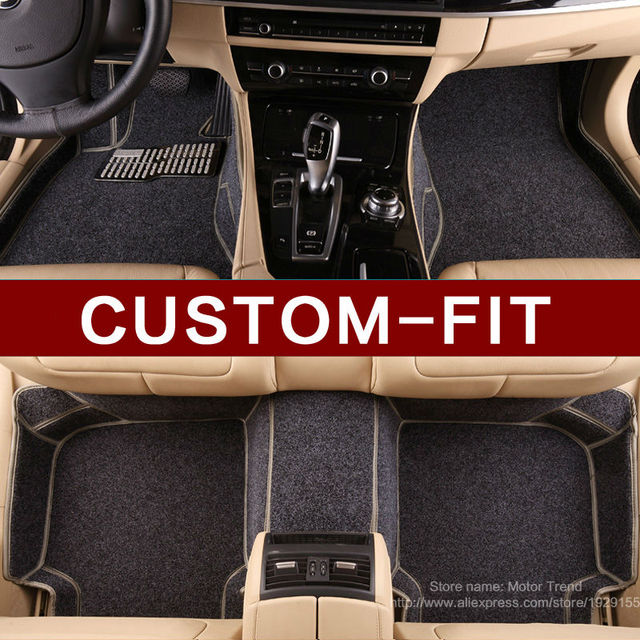 Special car floor mats for Porsche Cayenne SUV 911 Cayman Macan all weather car styling heavy duty rubber carpet liners