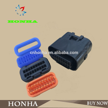 18 pin waterproof plastic female harness connector with relevant terminals DJ7181A-1-21