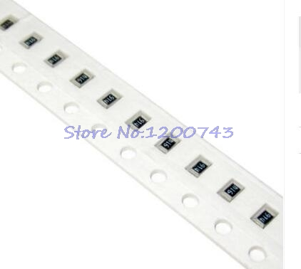 100pcs/lot 1206 SMD Resistor 1% 75 Ohm Chip Resistor 0.25W 1/4W 75R