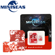 2016 Miniseas High Speed Class 10 Real Capacity Red Life 8GB 16GB 32GB Memory Card TF Card Micro SD Card For Phone