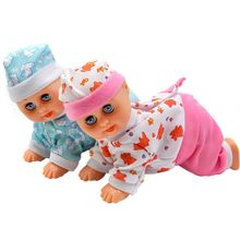 Funny Electric Intelligent Doll Laughing Crying Singing Crawling Baby Doll Toy Girl Toy Gi