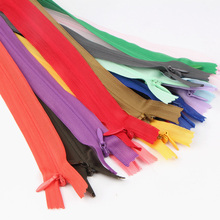 60 см невидимая молния Подушка юбка скрытая 3# Нейлон молния для шитья/одежды аксессуары Diy ручной работы ремесло