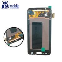 LCD Original Para Samsung Galaxy S6 G920 G920F LCD G920A G920i Display LCD de Toque Digitador Assembléia Com Rastreamento