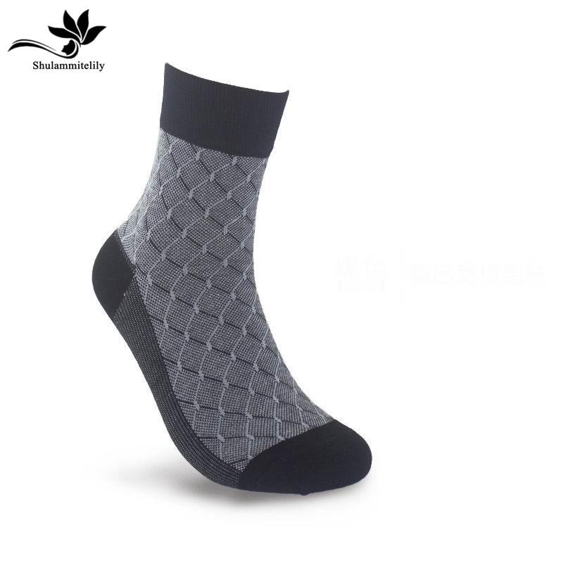 Breathable Men Socks Bamboo Fiber Comfotable Casual Socks Socks Anti-bacterial Cool Male Long Casual Meia Masculinas