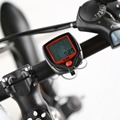 Bicycle Meter Speedometer Bike Digital LCD Cycling Computer LCD Odometer Speedometer Stopwatch For Bike SD-548B
