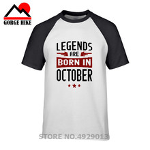 Legends Are Born In October T-shirt PU27