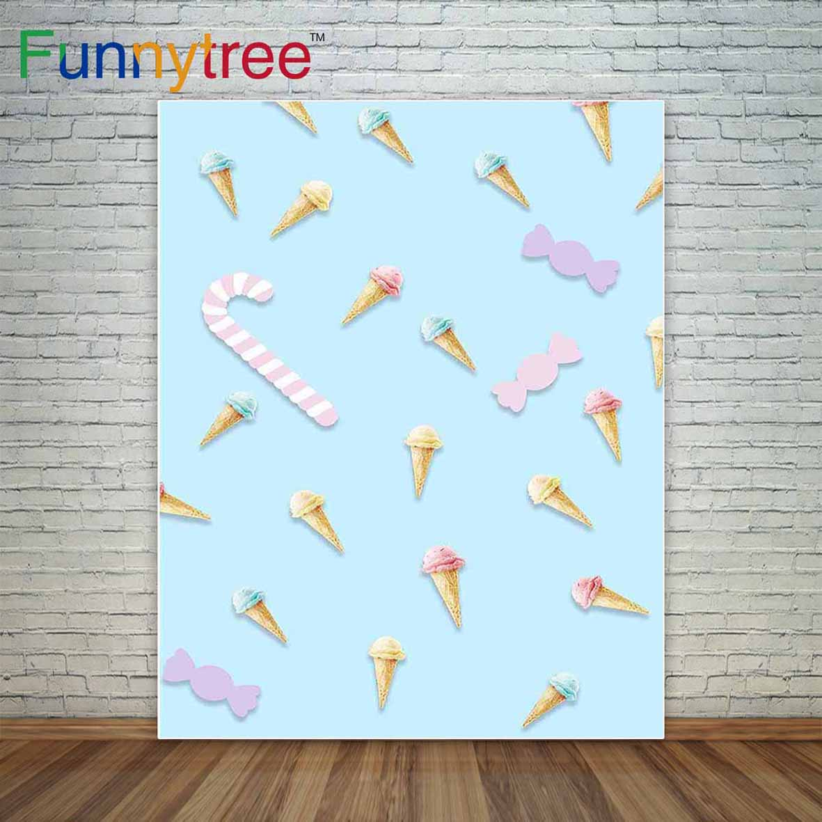 Ice cream background candy dessert baby blue candy bar decoration background a photo background cloths photography