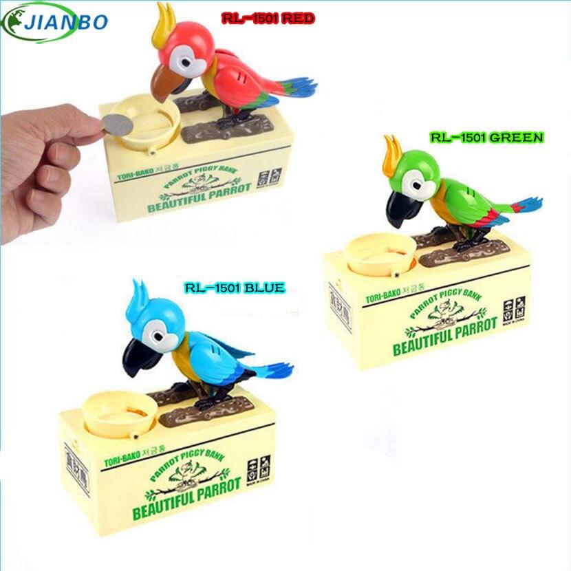 2018 New Arrival Safe Box Case Hidden Secret Safe Lock Cash Money Coin Storage Box Bird Boxes Jewellery key Lock For Kid Gift
